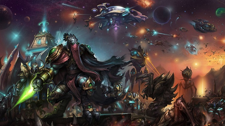 Game Starcraft 2 Legacy Of The Void